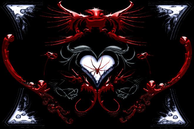 Gothic Heart By Doomer4o15