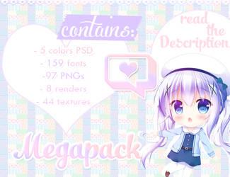 +200 watchers MEGAPACK by meromerowanko