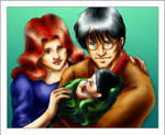 A Potter Family Moment