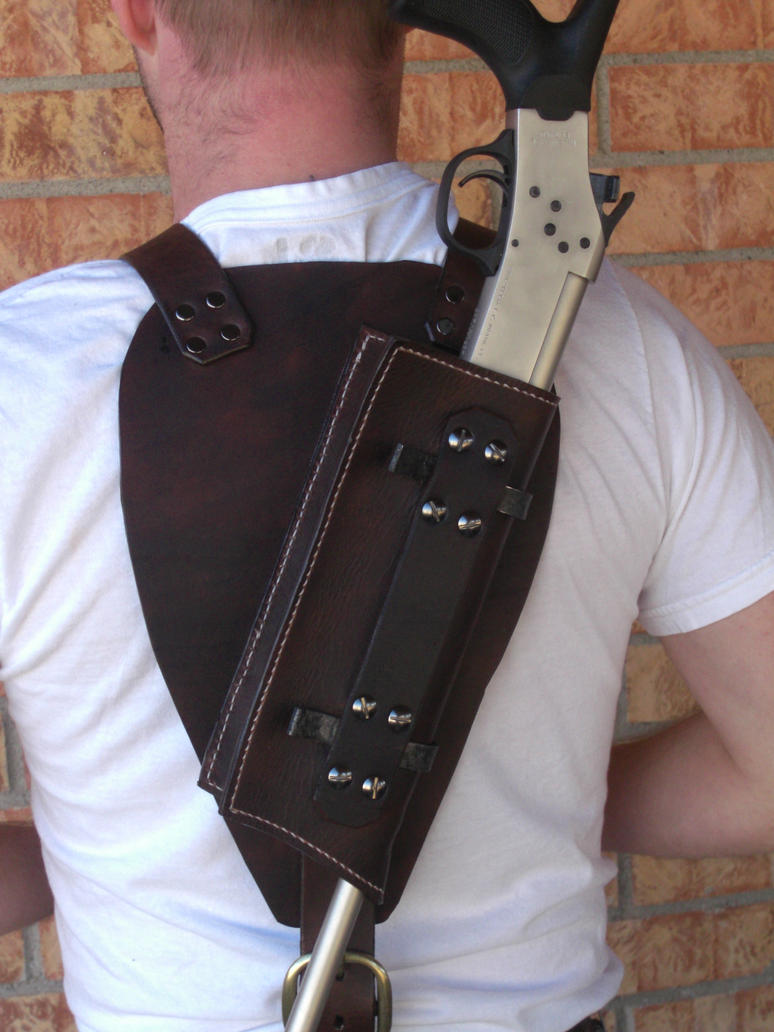 Belt buckle knife sheath
