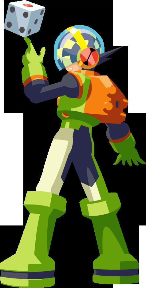 Vector - Number Soul Mega Man by TaerkEX