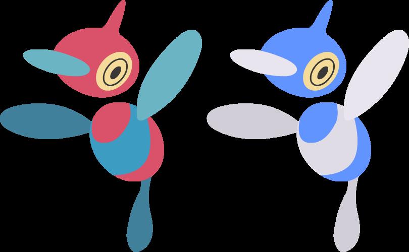 porygon2 pokemon moon - 900×500