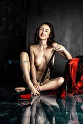 Audrey Blue n Red v.1 by Von Trapp Photo 2019 by VTphoto