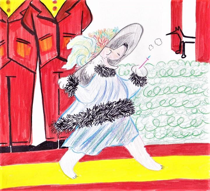 Merry Widow Hat by CountFangula