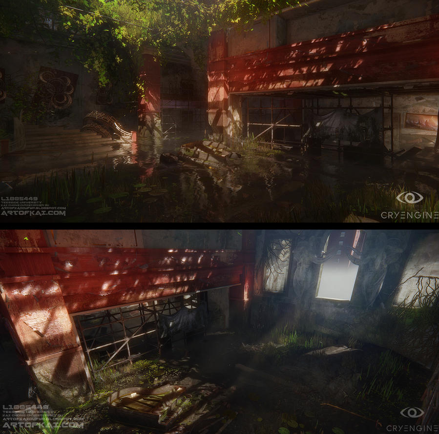 The Last Of Us CryEngine Environment Fan Art by BaconKai
