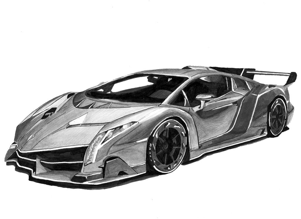 lamborghini veneno by karimhann on deviantart. Black Bedroom Furniture Sets. Home Design Ideas