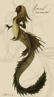 Forest mermaid - final design 4# (50 creatures...)