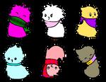 FREE Fluffy Blob Adoptables [OPEN]