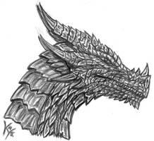 just a dragon head...