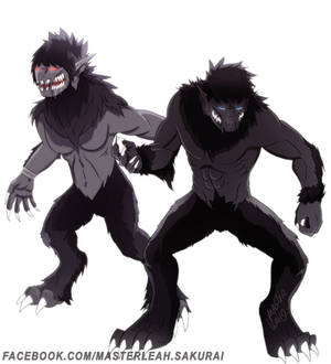WereWolf Titans - Female and Male