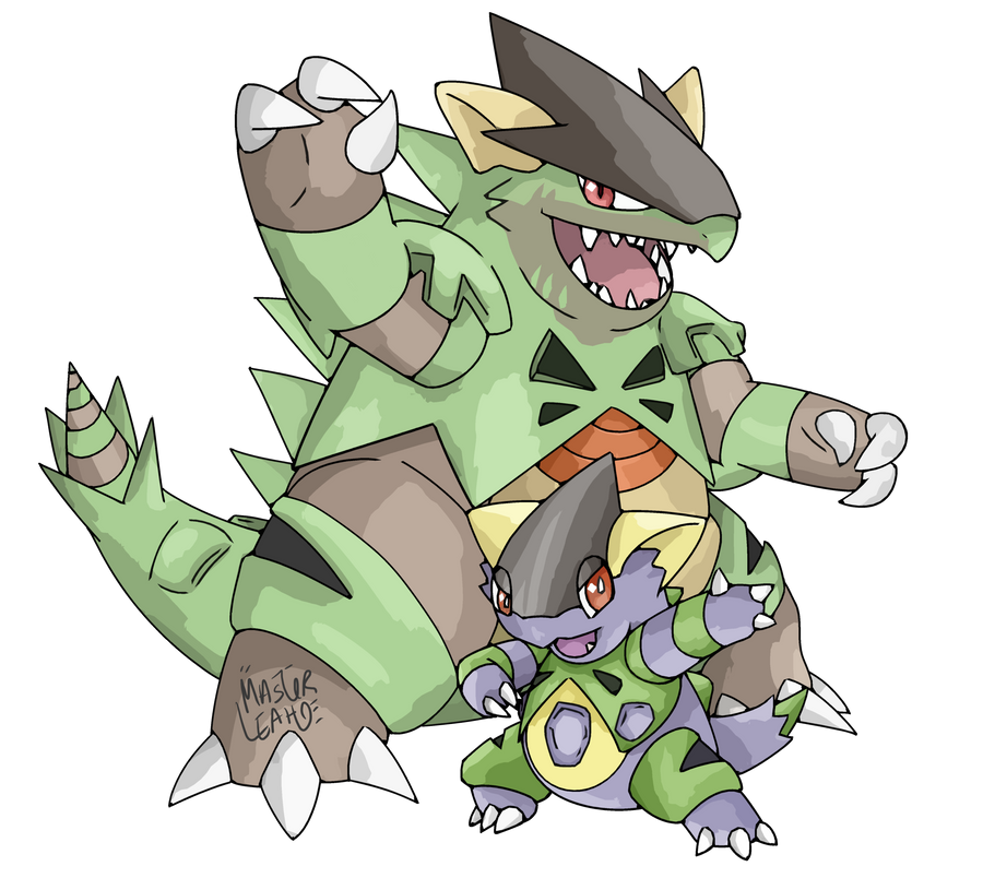 Connu Pokemon Fusion - Tyrangan by MasterLeahART on DeviantArt QQ74