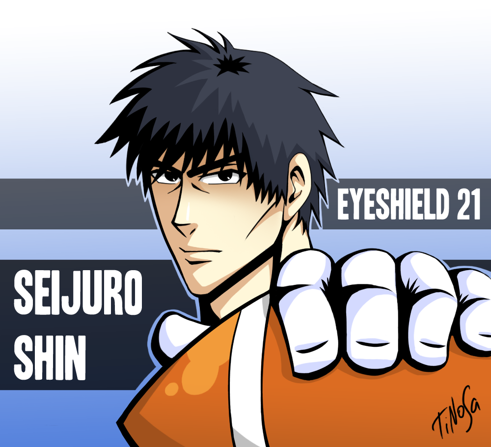 Eyesheild 21 Eyeshield: Eyeshield 21 By TiNoSa On DeviantArt