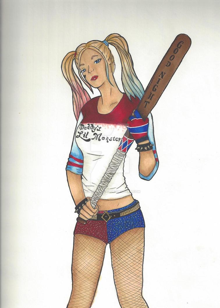 Harley Quinn 120516 by gorditachica3