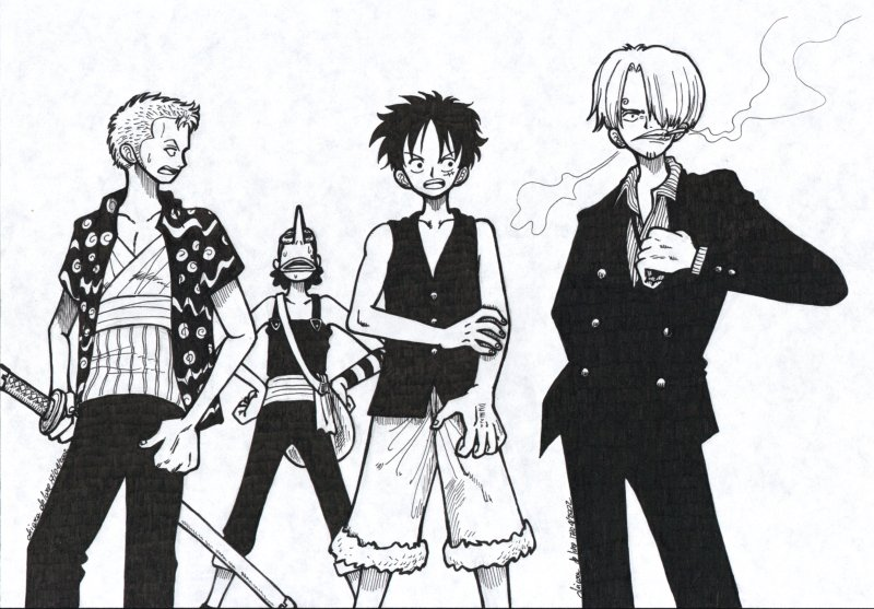 One Piece 03 by shainareth