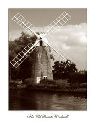The Old Broads Windmill by saecula