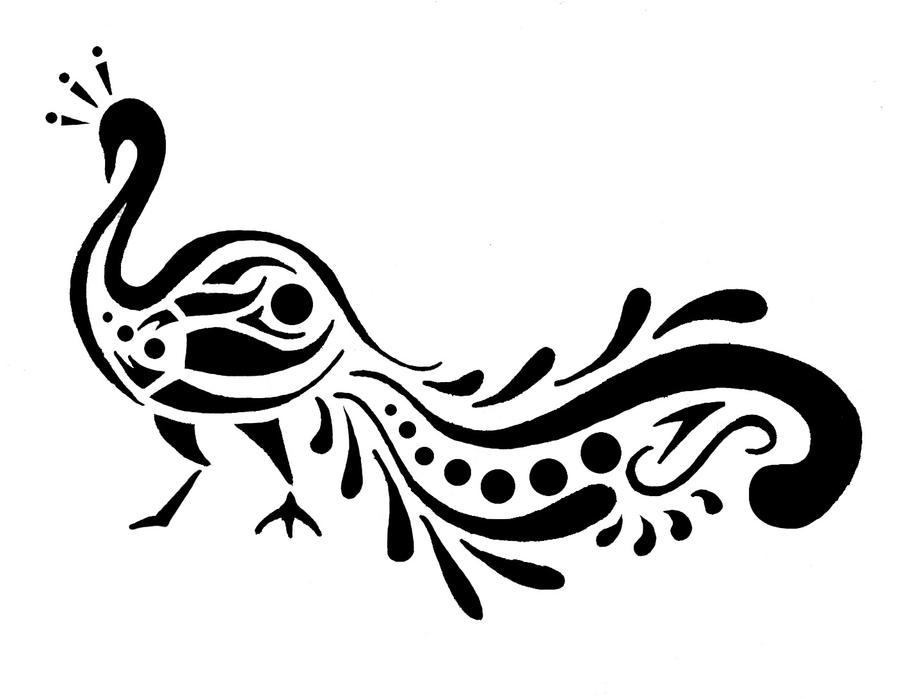 Peacock Design By Shadowkorin On Deviantart