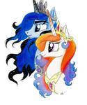 King Galaxias and Queen Nova