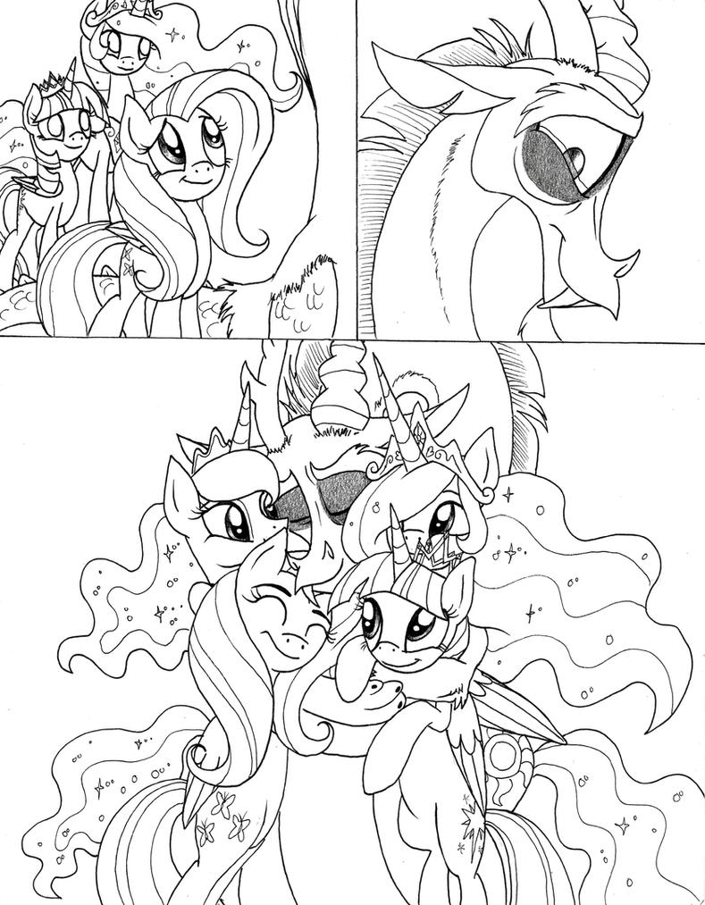 Heart of the Draconequus Page 239 by Celestial-Rainstorm