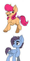 MLP Next Gen: Pippin, Proud Skies and Pixel Stream by Celestial-Rainstorm