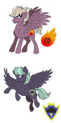 MLP Next Gen: Iron Weight and Thunderclap by Celestial-Rainstorm