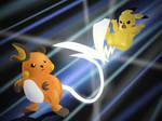 Pikachu VS. Raichu!