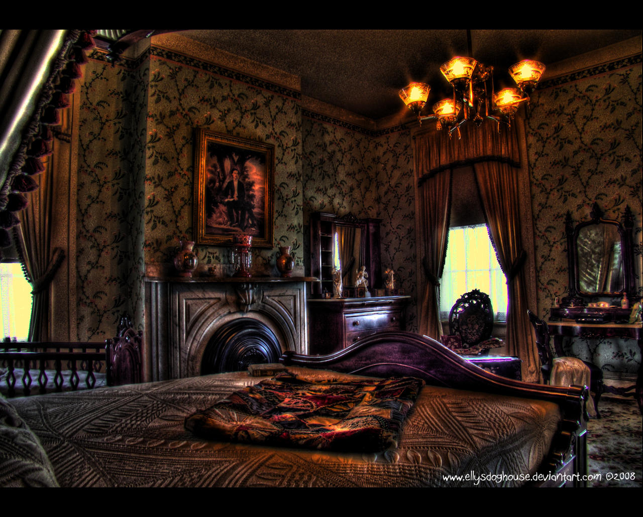 demenil mansion bedroom by ellysdoghouse on deviantart