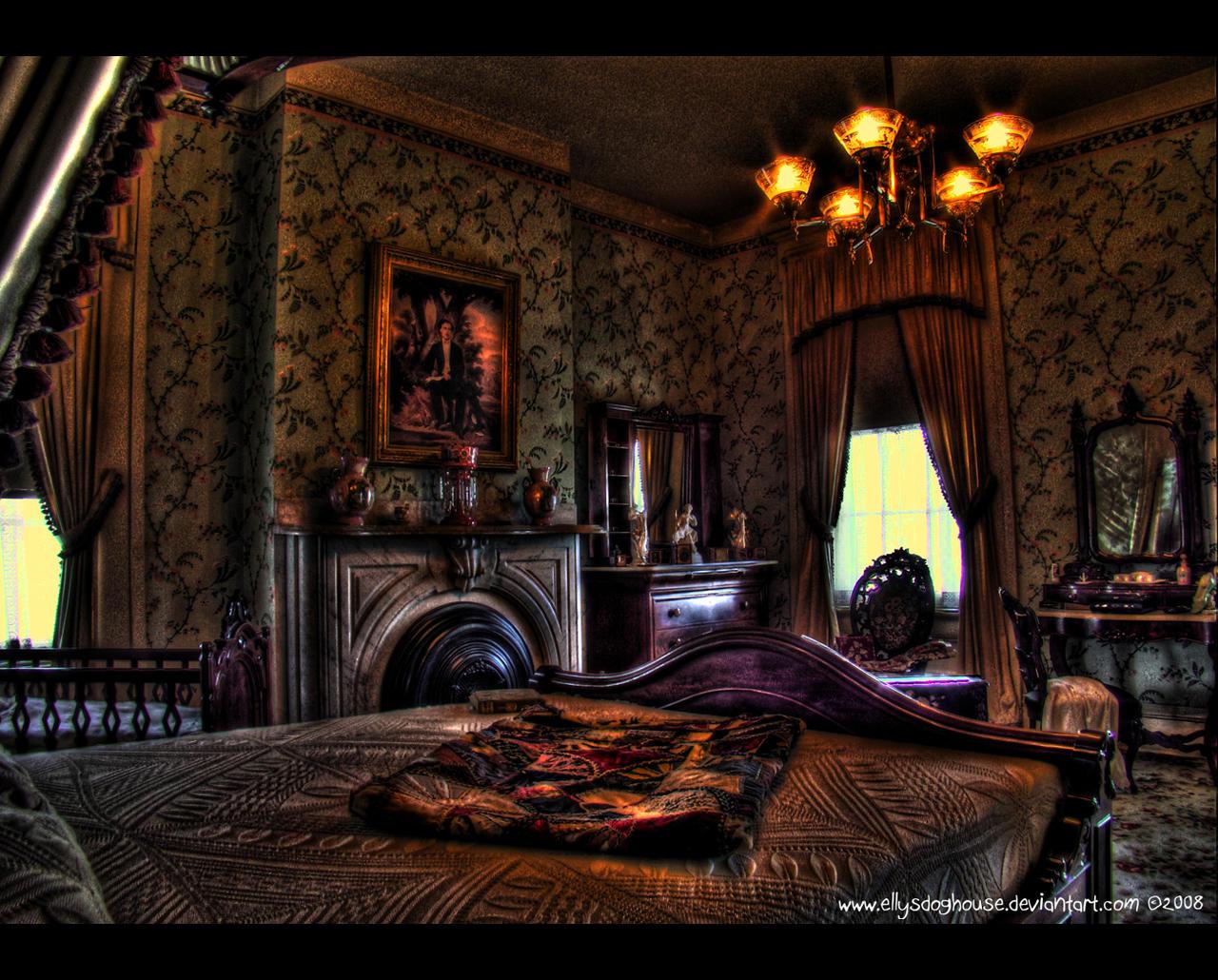 DeMenil Mansion - Bedroom by ellysdoghouse on DeviantArt
