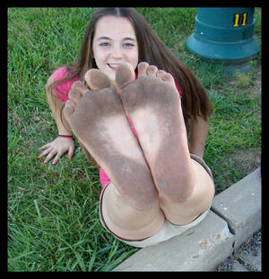 Love Dirty Feet?