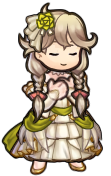 FEH Custom Sprites: Bridal Faye by ProfessorShiro