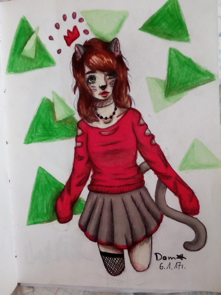 CAT by FrostyStarArtist