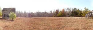 Abandoned Farm Panorama