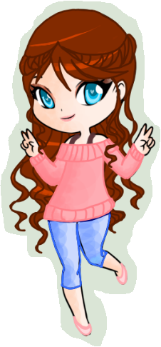 Lila as a Chibi by RebelWinxGirl