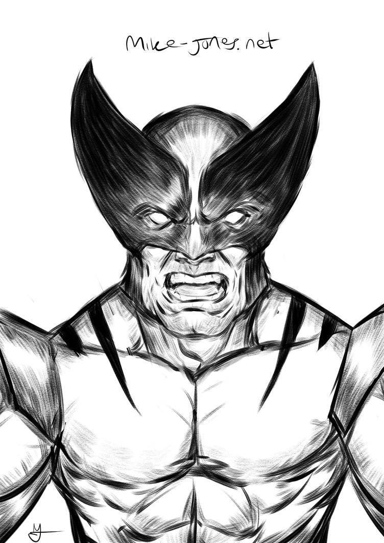 Wolverine Ink by michael-jones