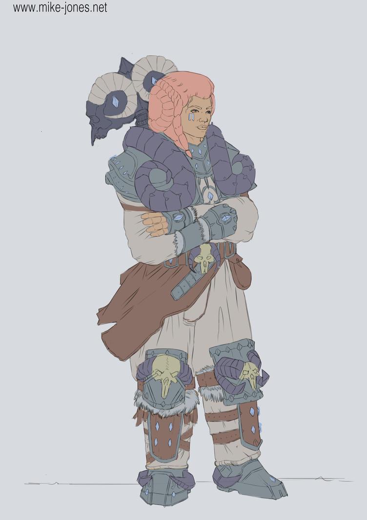 Ram dwarf by michael-jones