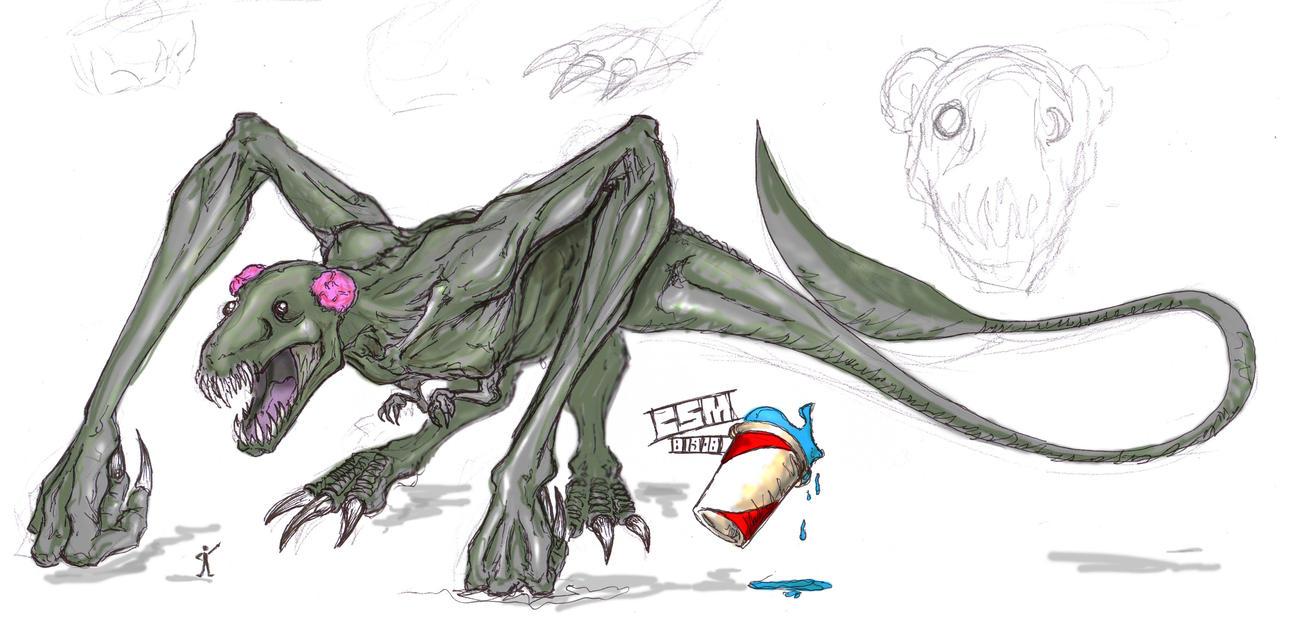 SPOILER Cloverfield Monster 2 by Tophoid on DeviantArt