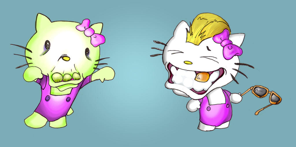 Hello Kitty Gone Wrong 2 by Tophoid