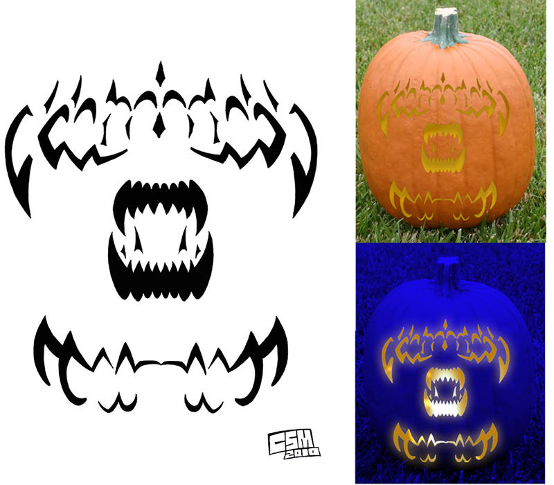 Aliens jack o lantern stencil by tophoid on deviantart for Alien pumpkin pattern