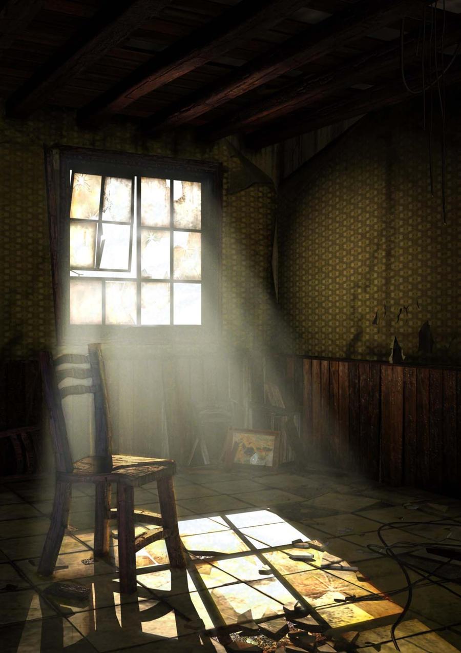 an abandoned room by zaishe5757 on DeviantArt