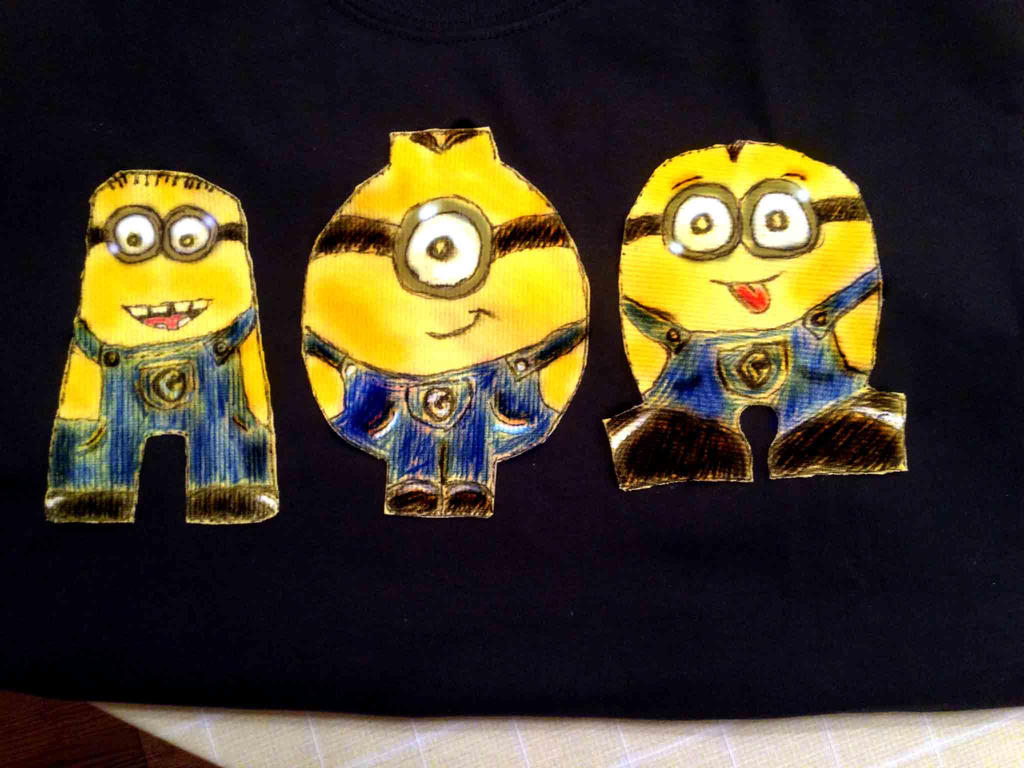 Minion Letters Alpha Phi Omega letters by theOwletteguardian15 on