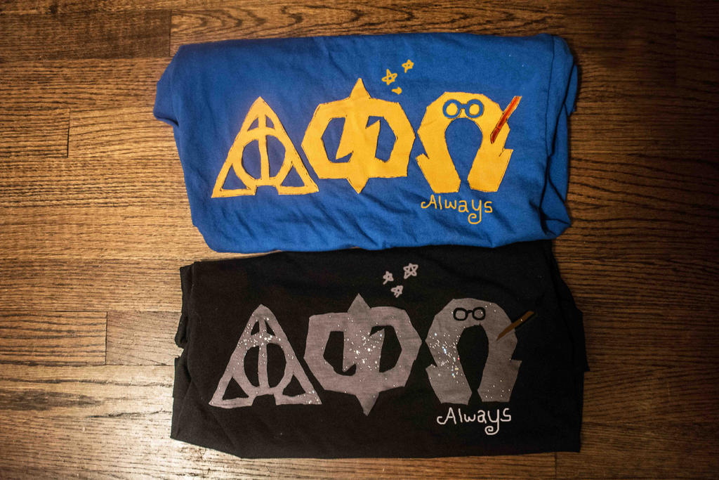 Harry Potter Alpha Phi Omega letters by theOwletteguardian15 on