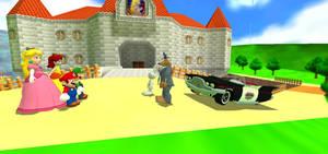 Sam and Max meet Mario