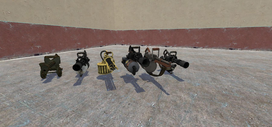 My Gmod TF2 Minigun collection by trainguy112 on DeviantArt