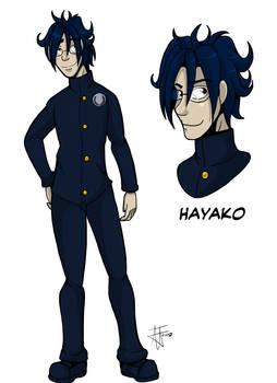 Hayako Character Design