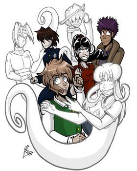Undead Friend Group Pic