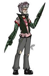 Shadowrun RPG Character: Edge Maverick by undeadfriend