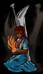 Undead Friend Chapter 12 Cover Art by undeadfriend