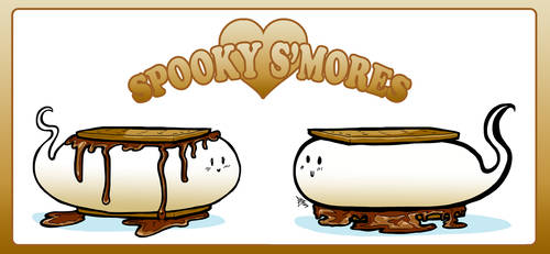 Spooky Smores by undeadfriend