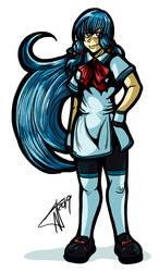 Shadowrun RPG: Lillian by undeadfriend