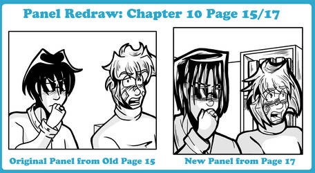 Panel Redraw: Chapter 10 Page 15/17 by undeadfriend