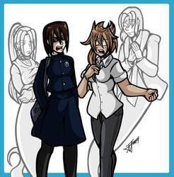 Undead Friend Genderswap Scene 03 by undeadfriend